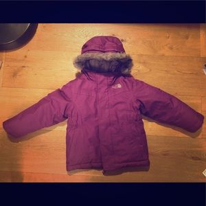 Toddler Girls' Northface Down Jacket